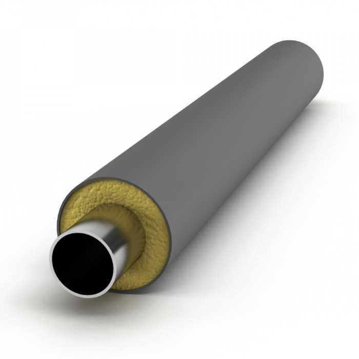 Труба в ППУ ПЭ изоляции 133/250