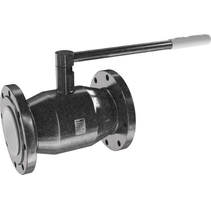 Шаровой фланцевый стальной кран ALSO КШ.Ф. 150 (PN 25)