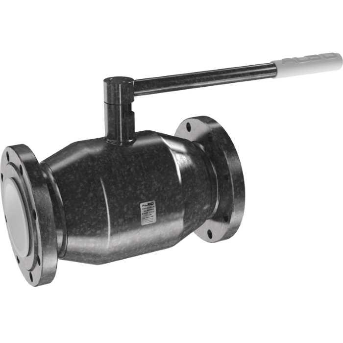 Шаровой полнопроходной фланцевый стальной кран ALSO КШ.Ф.П. 250