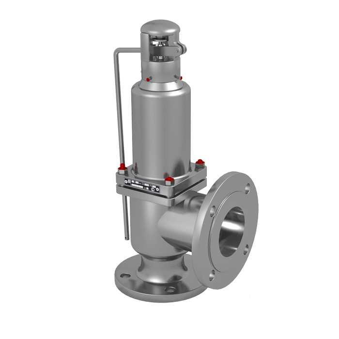 Клапан стальной предохранительный 17с28нж д.80 (0,5-1,5)
