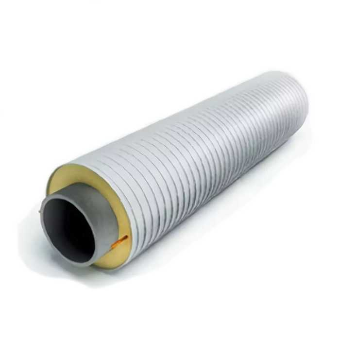 Труба в ППУ ОЦ изоляции 133/250