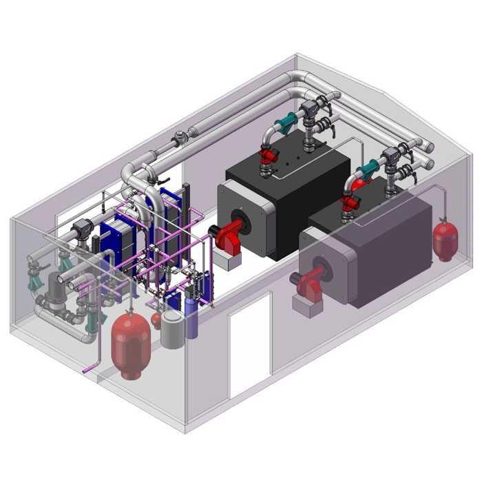 Проектирование дизельных котельных